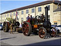 SU1484 : Howitzer convoy, 'Steam' museum, Swindon by Brian Robert Marshall