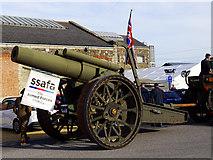 SU1484 : Howitzer, 'Steam' museum, Swindon (2) by Brian Robert Marshall