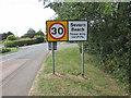 ST5485 : Severn Beach - Please drive carefully by Jaggery