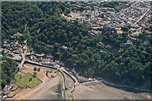 SS7249 : Lynmouth to Lynton: aerial 2018 by Chris