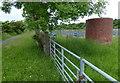 SD8741 : Foulridge Tunnel air shaft by Mat Fascione