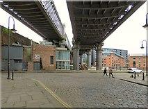 SJ8397 : Castlefield Viaduct by Gerald England