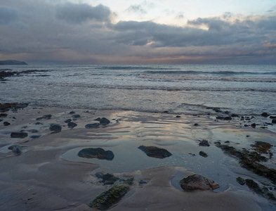 NH7459 : Silver sea at Rosemarkie by Julian Paren