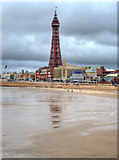 SD3036 : Blackpool Tower - The Classic View by David Dixon