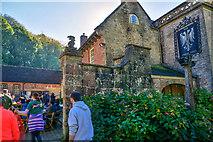 ST7734 : Wiltshire : Stourhead - The Spread Eagle Inn by Lewis Clarke