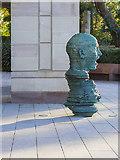 J3372 : Sculpture, Queen's University Belfast by Rossographer