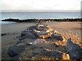 TM2015 : Holland-on-Sea: Rock groyne near Flags Cafe by Nigel Cox