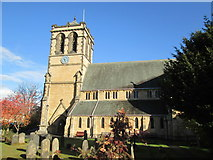 SE4245 : Parish  Church  of  St  Mary  the  Virgin.  Boston  Spa by Martin Dawes
