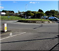 SS9184 : A4061 roundabout, Bryncethin by Jaggery