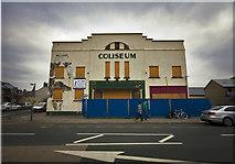 SH5639 : The ex Coliseum cinema Porthmadog by Paul Weston