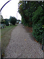 TL9123 : St. Andrew's Church Path by Adrian Cable