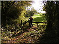 SO8498 : Crossing the Stile by Gordon Griffiths
