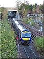 NT3271 : Tweedbank Train by Anne Burgess