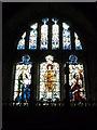 SO3732 : Window inside St. Faith's Church (Chancel   Bacton) by Fabian Musto