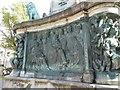SD4761 : The north panel of the Victoria memorial, Dalton Square, Lancaster by David Smith