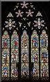 SK7519 : East Window, St Mary's church, Melton Mowbray by Julian P Guffogg