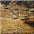 NN6719 : A road in Srath a' Ghlinne by Richard Webb