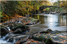 NY1700 : Trough House Bridge in Autumn by Nick Thorne - Bodian Photography