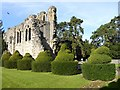 SJ6200 : Wenlock Priory Ruins by Oliver Dixon