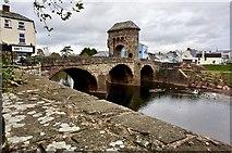 SO5012 : Monnow Bridge by jeff collins