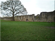 SO5074 : Ludlow Castle (St. Peter's Chapel) by Fabian Musto