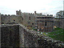 SO5074 : Ludlow Castle (Tudor Lodgings & St. Mary Magdalene Chapel) by Fabian Musto