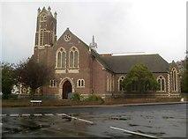 TM1714 : Clacton-on-Sea: Christ Church United Reformed Church by Nigel Cox