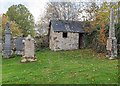 NH4944 : Watch House Kilmorack Old Burial Ground by valenta
