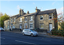 SE1115 : Houses on Manchester Road, Huddersfield by JThomas