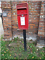 TL8628 : Upper Holt Street Postbox by Geographer
