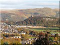 NS7994 : The view from Stirling Castle by Graham Hogg