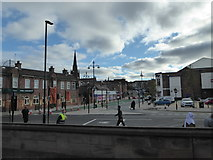 SK4293 : Looking from Rotherham Bridge towards Corporation Street by Basher Eyre