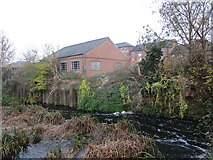 SK7953 : Part of the mill race, Newark on Trent by Jonathan Thacker