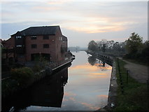 SK7953 : The Newark branch of the River Trent by Jonathan Thacker