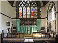 SE3263 : St Leonard, Burton Leonard - Sanctuary by John Salmon