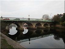 SK7954 : Trent Bridge, Newark by Jonathan Thacker