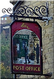 SE1115 : Sign for the former Post Office public house, Milnsbridge by JThomas