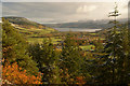 NH5029 : Drumnadrochit and the Great Glen from Craigmony Fort, Highlands by Andrew Tryon