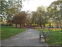 TQ3283 : Rosemary Gardens, Hoxton by Malc McDonald