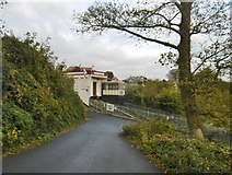 SX9265 : Babbacombe Cliff Railway a) by Mike Faherty