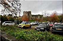 ST5394 : Chepstow castle by jeff collins