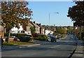 SK4746 : Nottingham Road, Newthorpe, Eastwood by Alan Murray-Rust