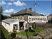 SD8789 : W. R. Outhwaite's ropemakers  at Hawes by Marathon