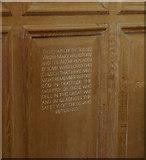 TF3244 : WW1 War Memorial Altar by Ian S