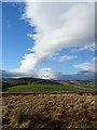 NJ1623 : Dramatic Sky above Carn Mèilich by Anne Burgess
