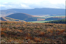 NJ2323 : The Bochel and Braes of Glenlivet by Anne Burgess