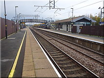 SD6409 : Horwich Parkway railway station, Lancashire by Nigel Thompson