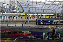 SJ8499 : Manchester Victoria station platforms by Ian Taylor