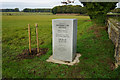 TG1520 : In Memory of Swanningland Airfield by Ian S