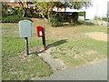 TL8230 : Fenn Road George V Postbox by Adrian Cable